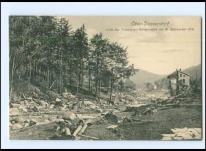 XX009703/ Ober-Dessendorf Talsperren-Katastrophe 1916 Böhmen Tschechien AK