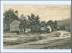 XX009704/ Ober-Dessendorf Talsperren-Katastrophe 1916 Böhmen Tschechien AK