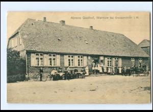 XX009679/ Warnow Ahrens Gasthof bei Grevesmühlen AK 1917