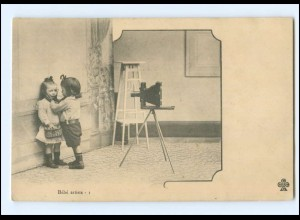 V040/ Fotoapparat Kinder AK ca.1900