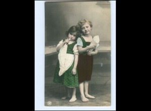 Y16054/ Junge und Mädchen Kinder schöne NPG Foto AK 1909