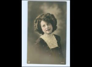 Y16076/ Junge hübsche Frau Foto koloriert AK ca.1910
