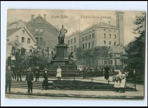 U9997/ Essen Friedrich Krupp-Denkmal AK 1912
