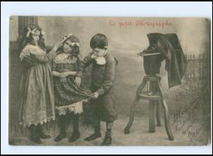V041/ Fotoapparat Kinder Le petit Photographe AK 1904