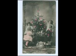 Y16187/ Weihnachten Kinder Spielzeug Tannenbaum NPG Foto AK 1908