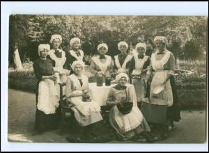 Y16138/ Haushaltshilfen Kochen Küche Kaffeemühle Foto AK 1917