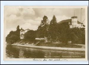 V115/ Neustadt Holstein Hanseatische Yachtschule Foto AK 1927