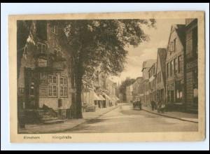 V1622/ Elmshorn Königstraße AK ca.1920