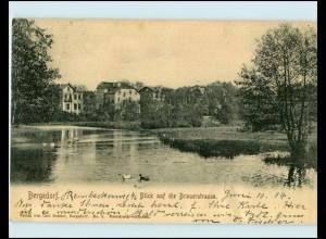 XX10253/ Hamburg Bergedorf Blick a.d. Brauerstraße AK 1904