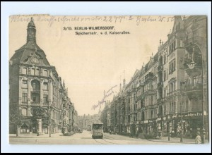 XX10231/ Berlin Wilmersdorf Spichernstraße Straßenbahn AK 1919