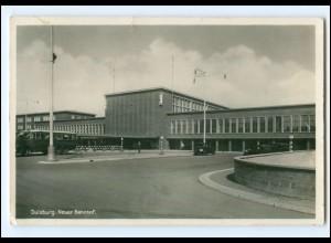 XX10107/ Duisburg Neuer Bahnhof 1936 Foto AK