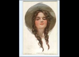 XX009914/ Harrison Fisher AK junge Frau ca.1912