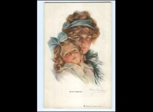 XX009911/ Philip Boileau Mutter und Kind AK ca.1912