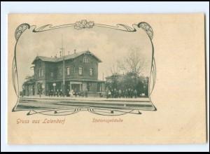 XX10157-182/ Gruß aus Lalendorf Bahnhof AK ca.1910