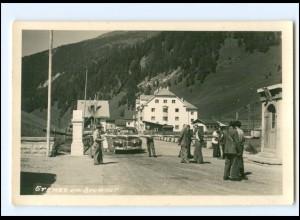 XX009897/ Grenze am Brenner Foto AK ca. 1935 Italien