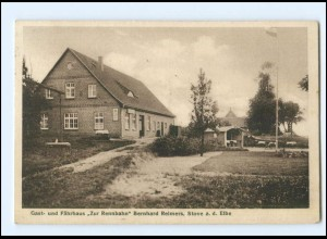 XX10122/ Stove a.d. Elbe Gasthaus Zur Rennbahn 1934 AK