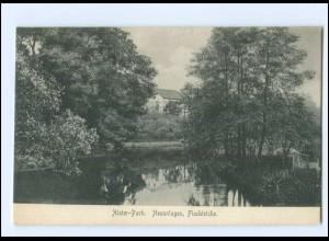 XX10243/ Hamburg Fuhlsbüttel Alster-Park, Fischteiche AK 1909