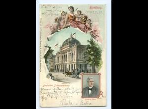 XX10244/ Hamburg St. Georg Dt. Schauspielhaus - Ludwig Max AK 1902