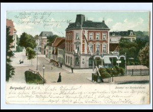 XX10237/ Hamburg Bergedorf Bahnhof mit Bahnhofshotel AK 1903