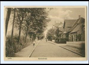 XX10100/ Leck Bahnhofstraße 1935 AK
