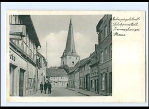 XX009998-3307/ Schöppenstedt Braunschweiger Str. AK ca.1955
