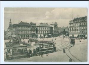 XX009939/ Hannover Aegidientorplatz Straßenbahn AK 1907