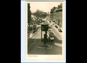 XX009943/ Dortmund Burgtor Straßenbahn Autos Foto AK 1952