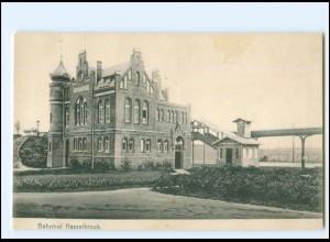 XX10165/ Hamburg Bahnhof Hasselbrook AK 1906