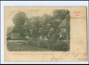 XX10163/ Winsen Luhe bei der Wassermühle AK 1902