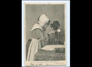 Y16512/ Allo !! A`leau ?? Mädchen telefoniert Telefon AK 1904