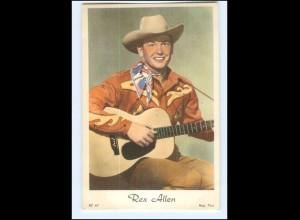 Y16518/ Rex Allen Schauspieler Western AK ca. 1955