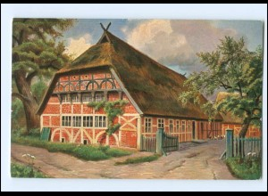 Y16550/ Friesisches Bauernhaus AK Verlag: T.S.N. ca.1910