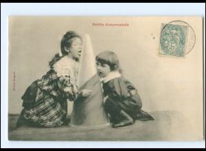 Y17216/ Petits Gourmands Kinder Zucker AK ca.1910