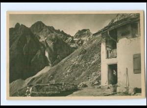 Y16561/ Berghütte Augsburgerhütte mit Paseierspitze AK ca.1930