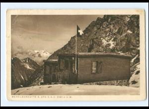 Y16562/ Berghütte Medelserhütte SAC Schweiz AK 1928