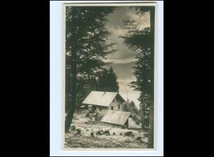 Y16563/ Berghütte Enzianhütte bei Innsbruck Foto AK Tirol ca.1930
