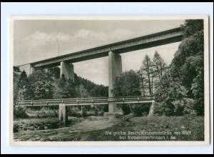 Y16565/ Reichsautobahn Brücke bei Siebenlehn Foto AK 1937