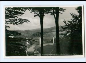 Y16567/ Werratal Autobahn Reichsautobahn-Brücke Foto AK 1939