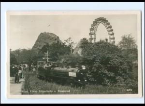 Y16599/ Wien Prater Lliputbahn Foto AK 1942