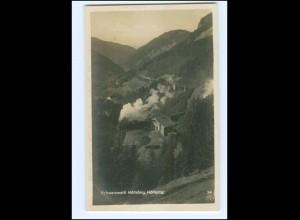 Y16600/ Eisenbahn Höllental Schwarzwald Foto AK ca. 1925