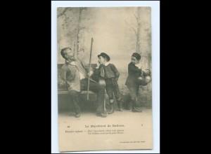 Y16603/ Les Marchand de Ballons Luftballon-Verkäufer AK ca.1910 Kinder