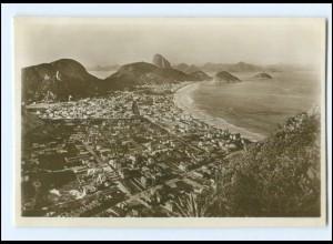 Y16620/ Rio de Janeiro Brasilien HSDG Hamburg Süd Foto AK ca.1930