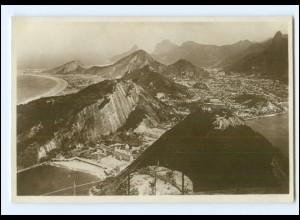 Y16622/ Rio de Janeiro Brasilien HSDG Hamburg Süd Foto AK ca.1930