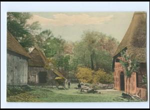 Y16641/ Bauernhaus Landwirtschaft AK ca.1900