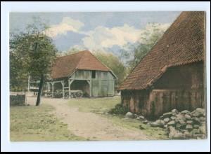 Y16642/ Niedersachsen Bauernhaus Landwirtschaft AK ca.1900