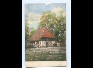 Y16644/ Niedersachsen Gehöft Bauernhaus Landwirtschaft AK ca.1900