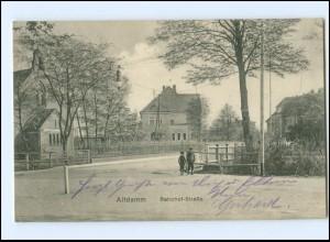 XX10278/ Altdamm Dabie Stettin Bahnhofstraße AK 1916