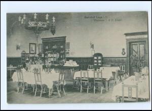 XX10324/ Lage i. L. Bahnhof Wartesaal I. & II. Klasse AK 1910