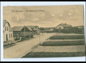 XX10337-2814/ Bruchhausen-Vilsen Am Bahnhof AK 1910
