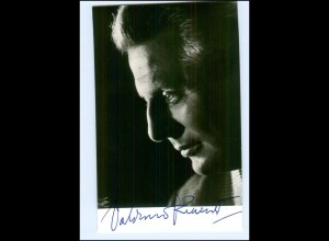 S2173/ Opernsänger Waldemar Kmentt Original Autogramm 1969